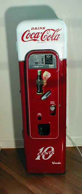 coke mystery vending machine